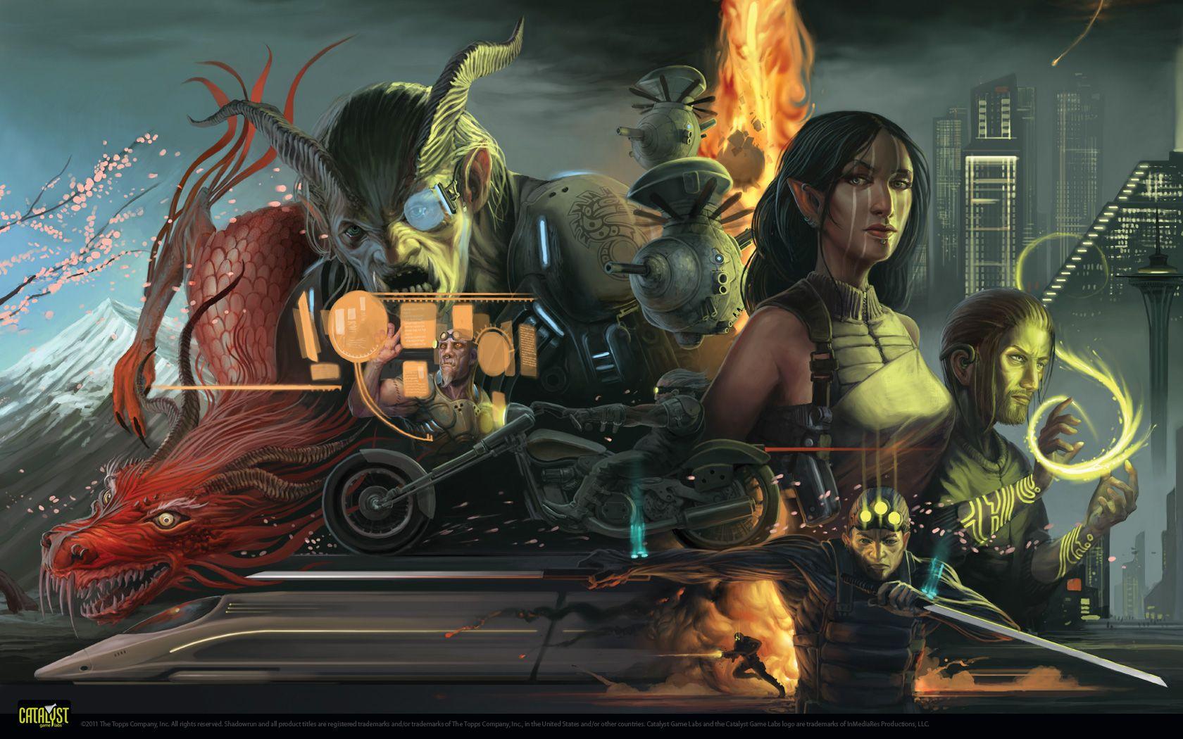 Sr4a1680x1050 Jpg 1680 1050 Shadowrun Fantasy Games Fantasy