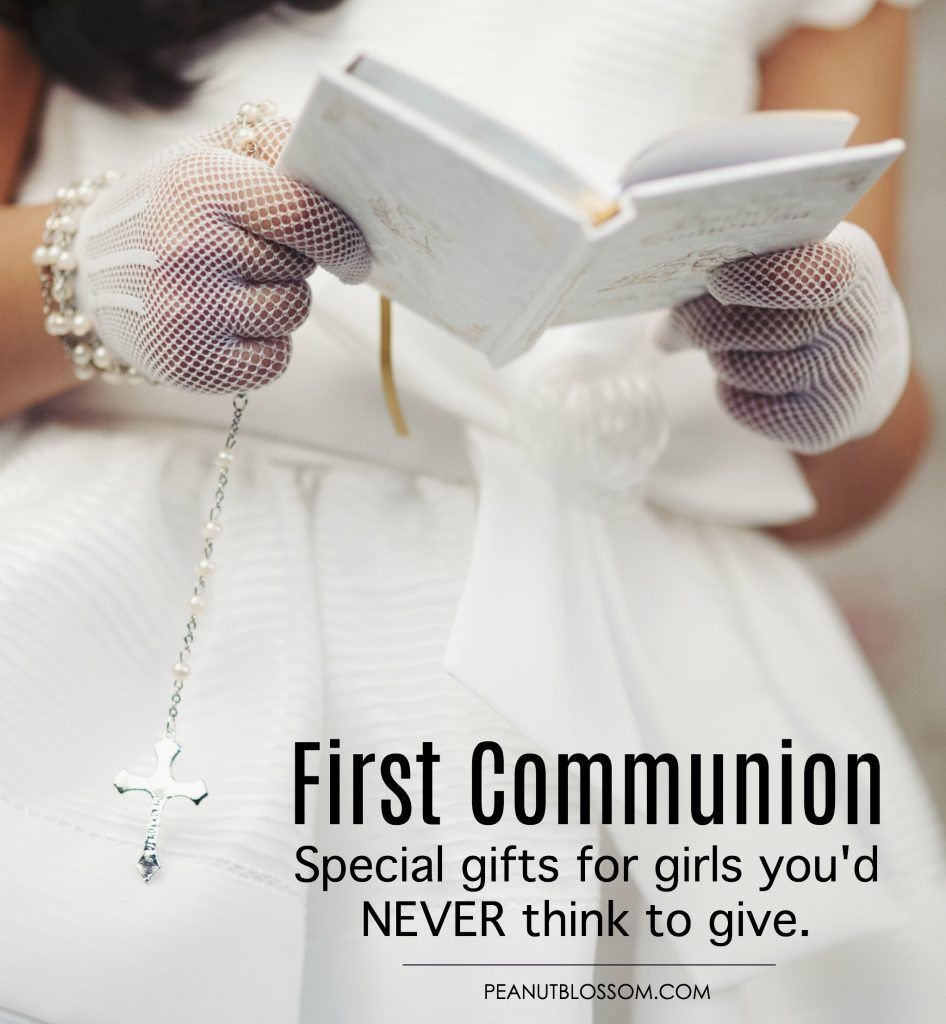 20 first communion gifts youd never think to give