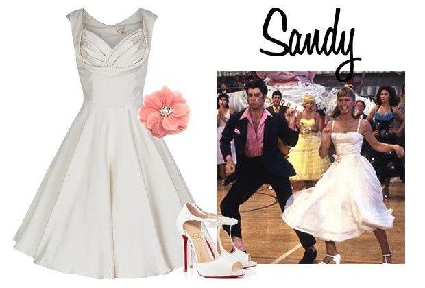 Grease Style Prom Dress