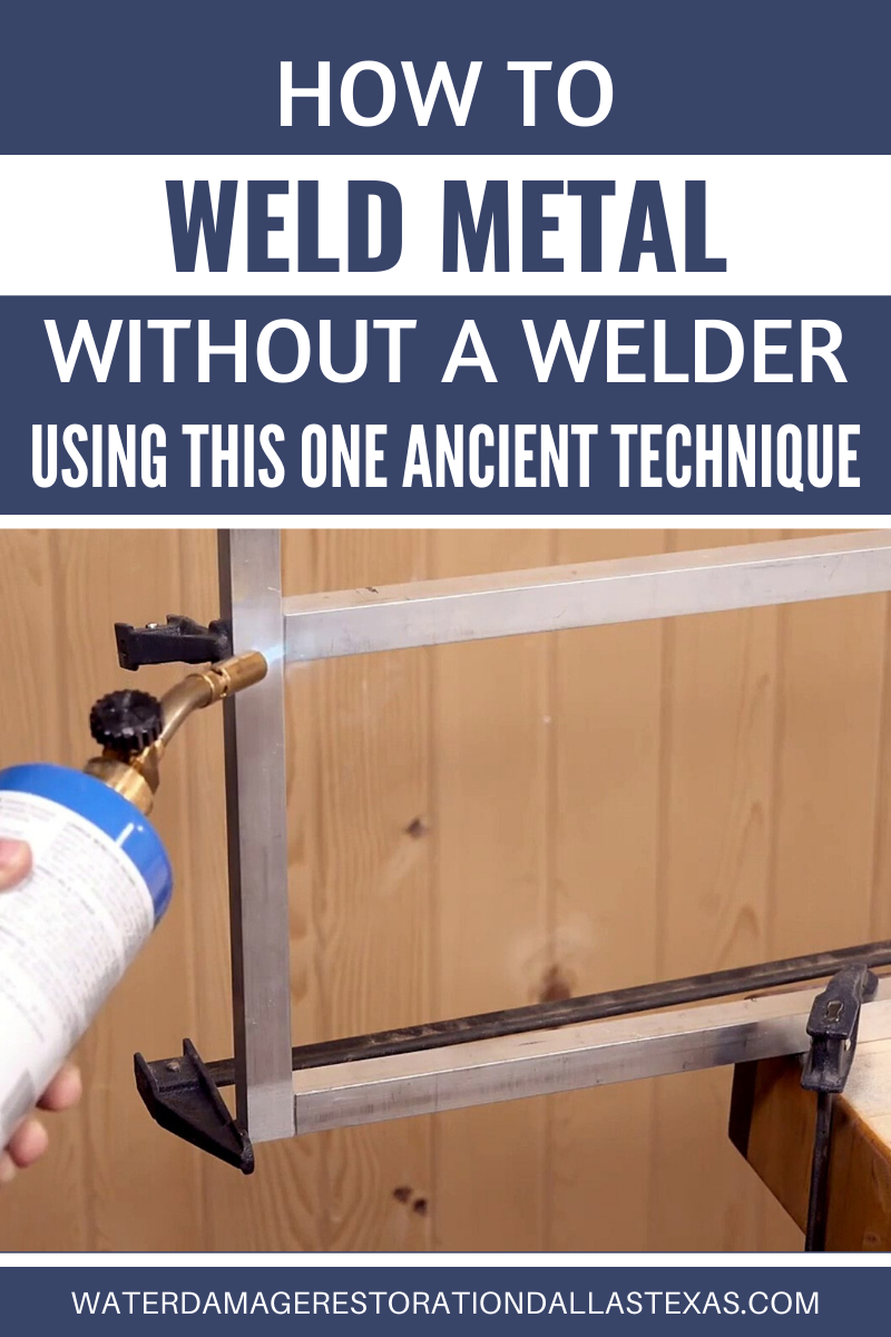 Learn How To Weld Metal Without A Welder Using This One Ancient Technique In 2020 Welding Aluminum Fabrication Metal Working Projects