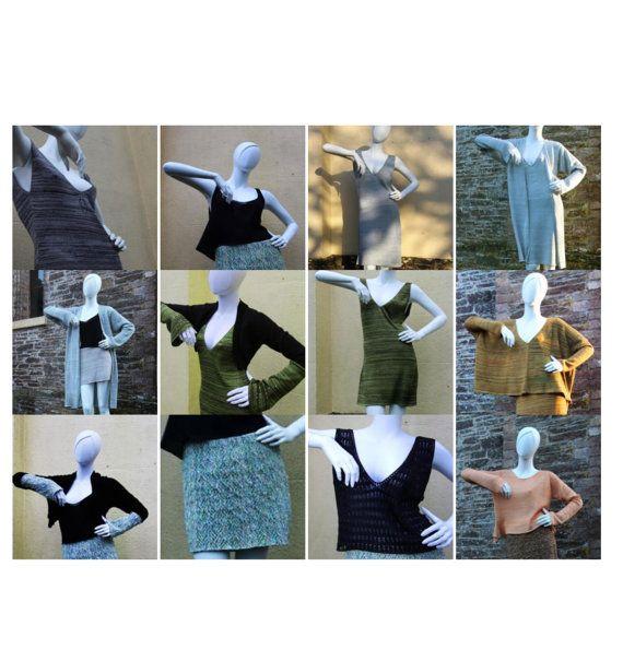 Maschine Knitting Patterns: Designer Strickwaren von henioCreative