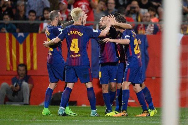 Girona V Barcelona La Liga Con Imagenes