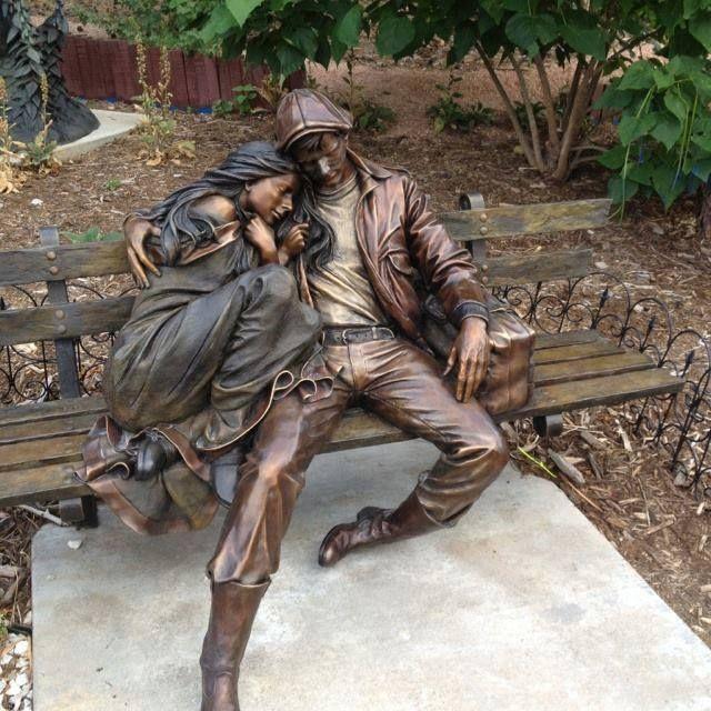 mark lundeen sculpture - Buscar con Google MARK BETS GEORGE - brunnen la sculptura