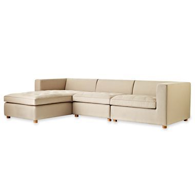 Design By Conran Heath Modular Sectional Jcpenney Modular Sectional Sectional Sectional Sofa