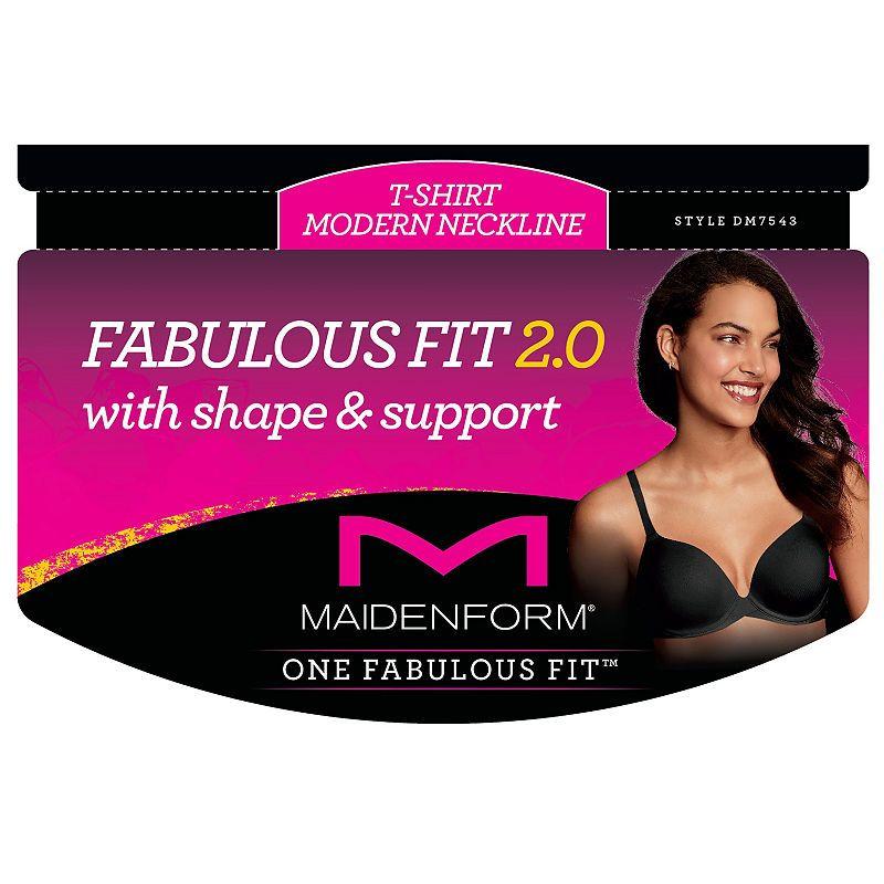 8b8d6a861f044 Maidenform One Fabulous Fit™ 2.0 Tailored Underwire T-Shirt Demi Bra-Dm7543