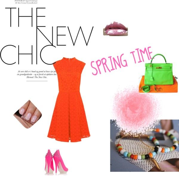 SRING TIME, created by sophie-panthere on Polyvore