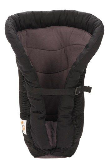 Ergobaby Charcoal Infant Insert For Our New Ergo Baby Carrier And A Must For The First 4 Months With A Newborn Ergobaby Ergobaby Carrier Soft Baby Carrier