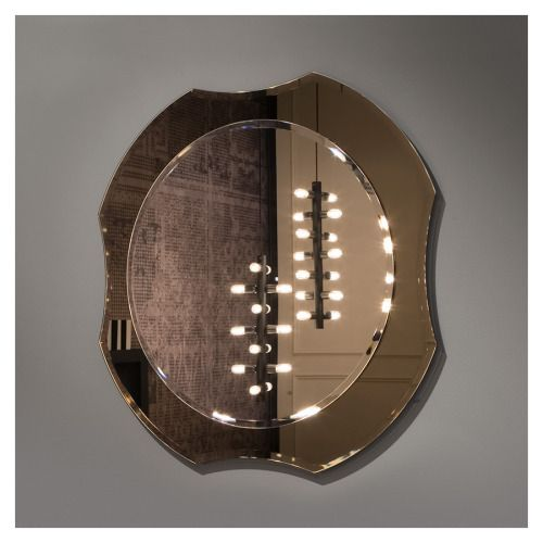 styletaboo:  Roberto Lazzeroni - Luxor mirror collection for Antonio Lupi