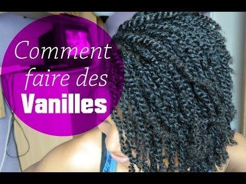 Comment faire des vanilles sur cheveux crépus ? Cheveux