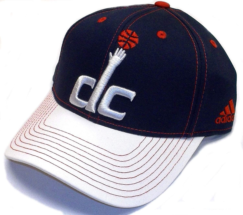 Washington Wizards Structured Adjustable Snap Back Strap Adidas Hat ... 534e9f2ae32