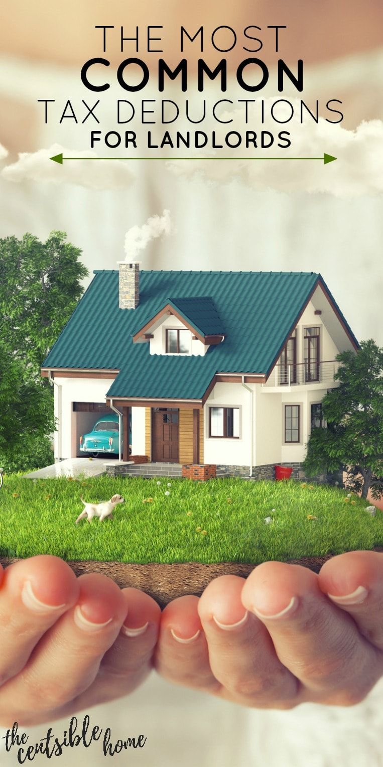 The Most Common Tax Deductions For Landlords The Censtible Home Tax Deductions Being A Landlord Deduction