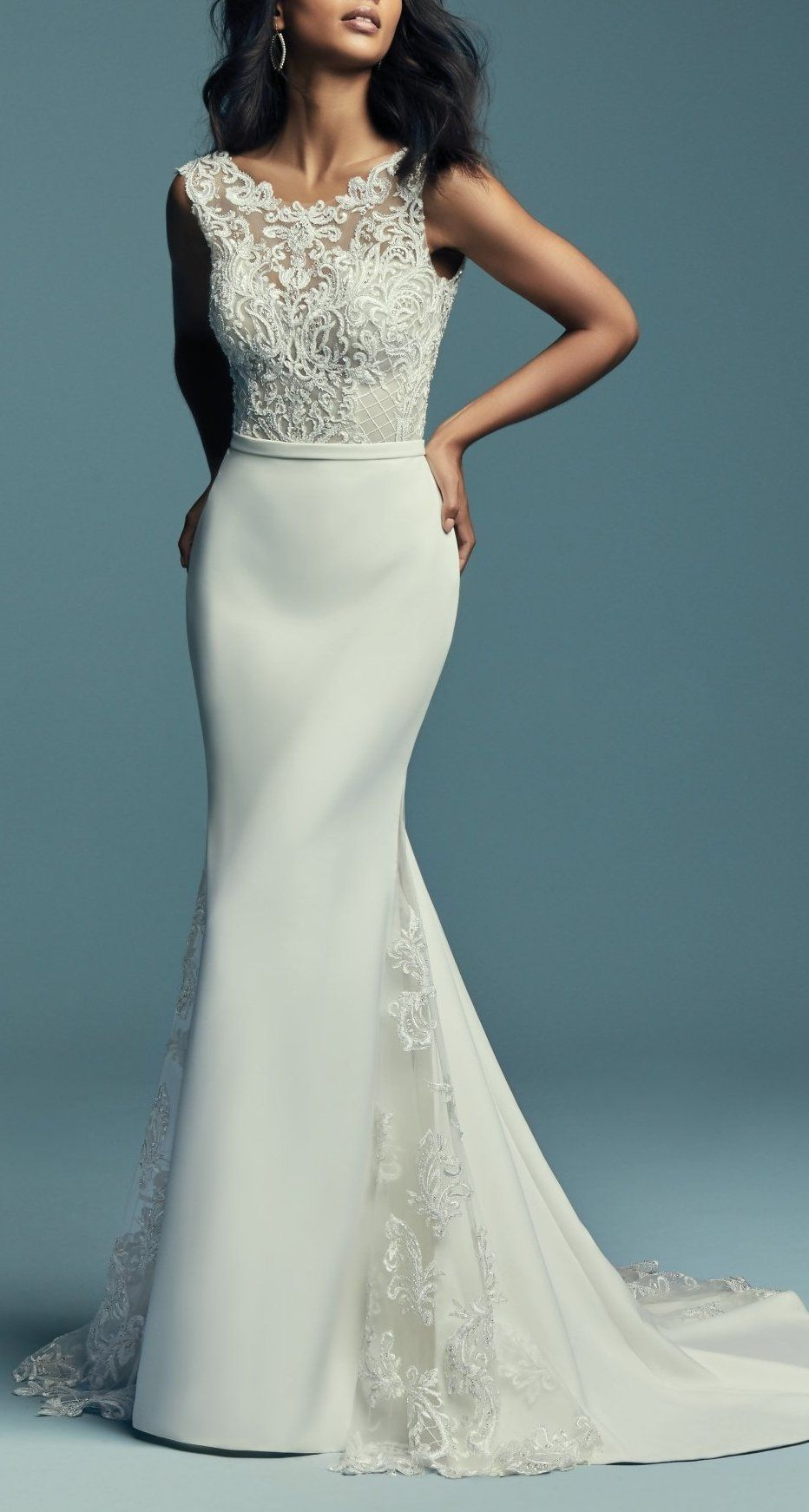 Maggie Sottero Wedding Dresses | Bateau neckline, Maggie sottero and ...