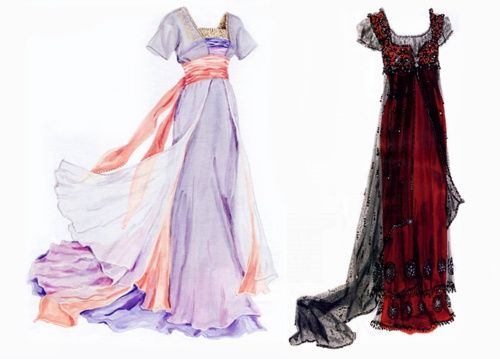 Roses dresses from Titanic srappe