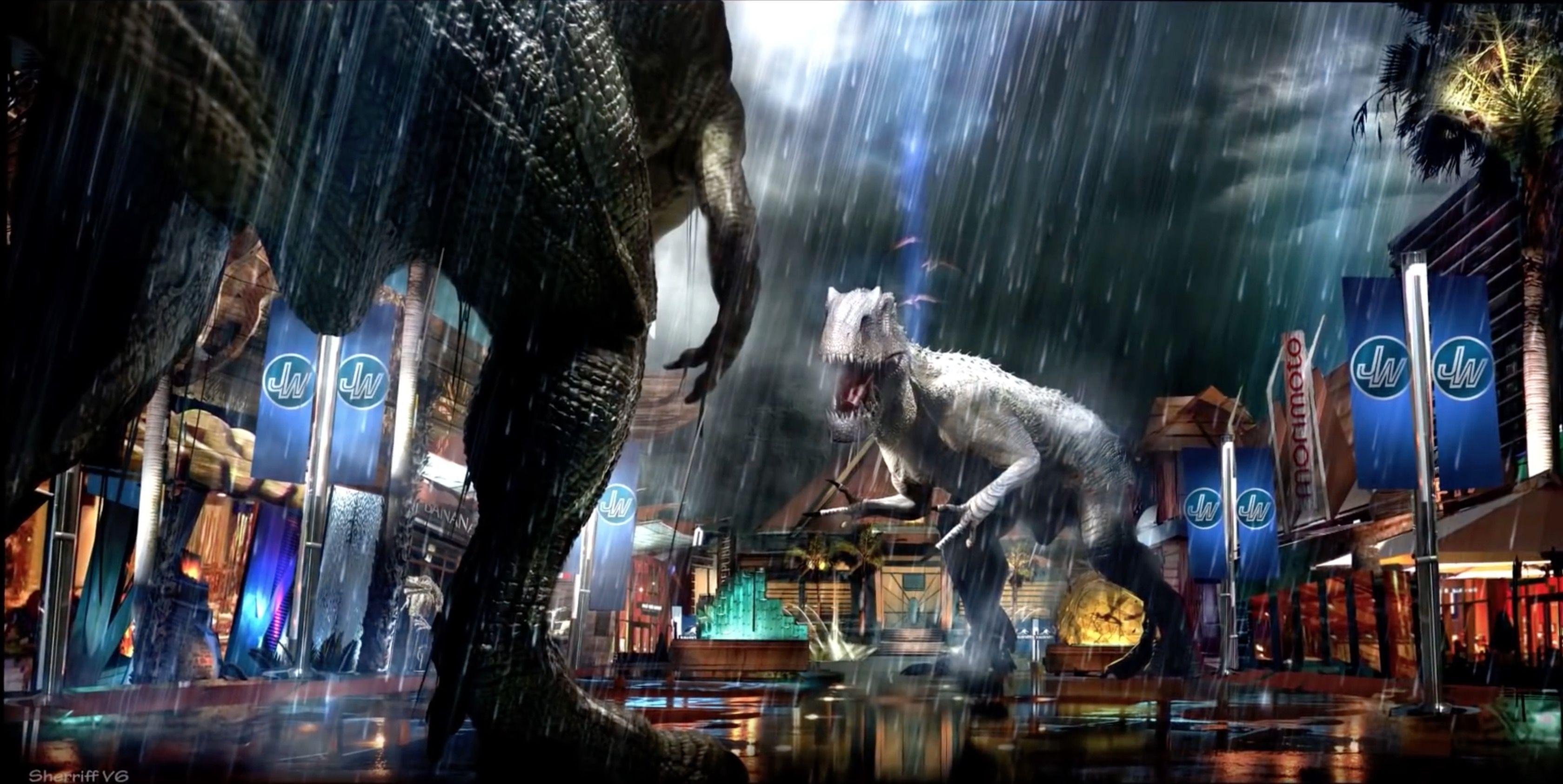 Jurassic World From Concept Art To Vfx Con Imagenes Parque
