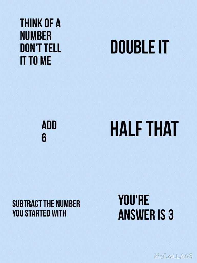 Worksheets Mind-readingnumbertrick — Mathfunfacts awesome mind trick using maths math tricks pinterest maths
