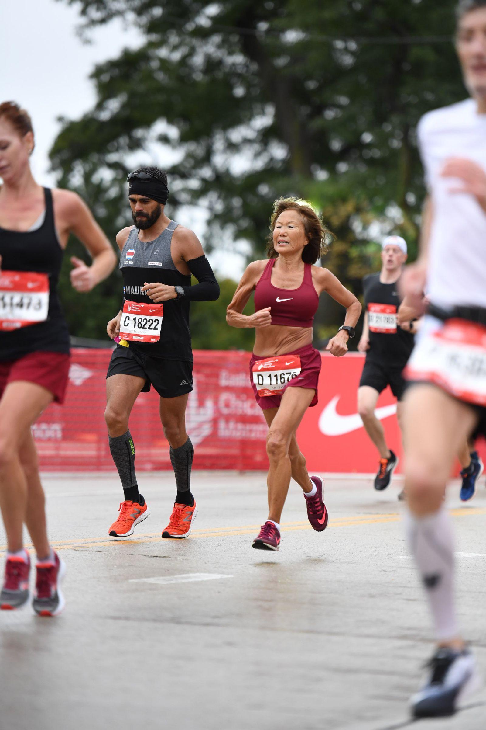70YearOld Ohio Woman Runs Insanely Fast Marathon in