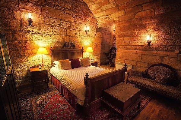 Simundus De Ramseia Bedroom http//www.dalhousiecastle.co