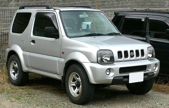 63hp Turbocharged 3 Cylinder Suzuki Jimny
