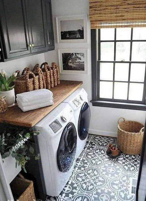 Photo of 38+ inspirierende Ideen für kleine Waschküchen 33 | Bloghenni.online   #Bloghe…