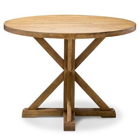 farmhouse round dining table round