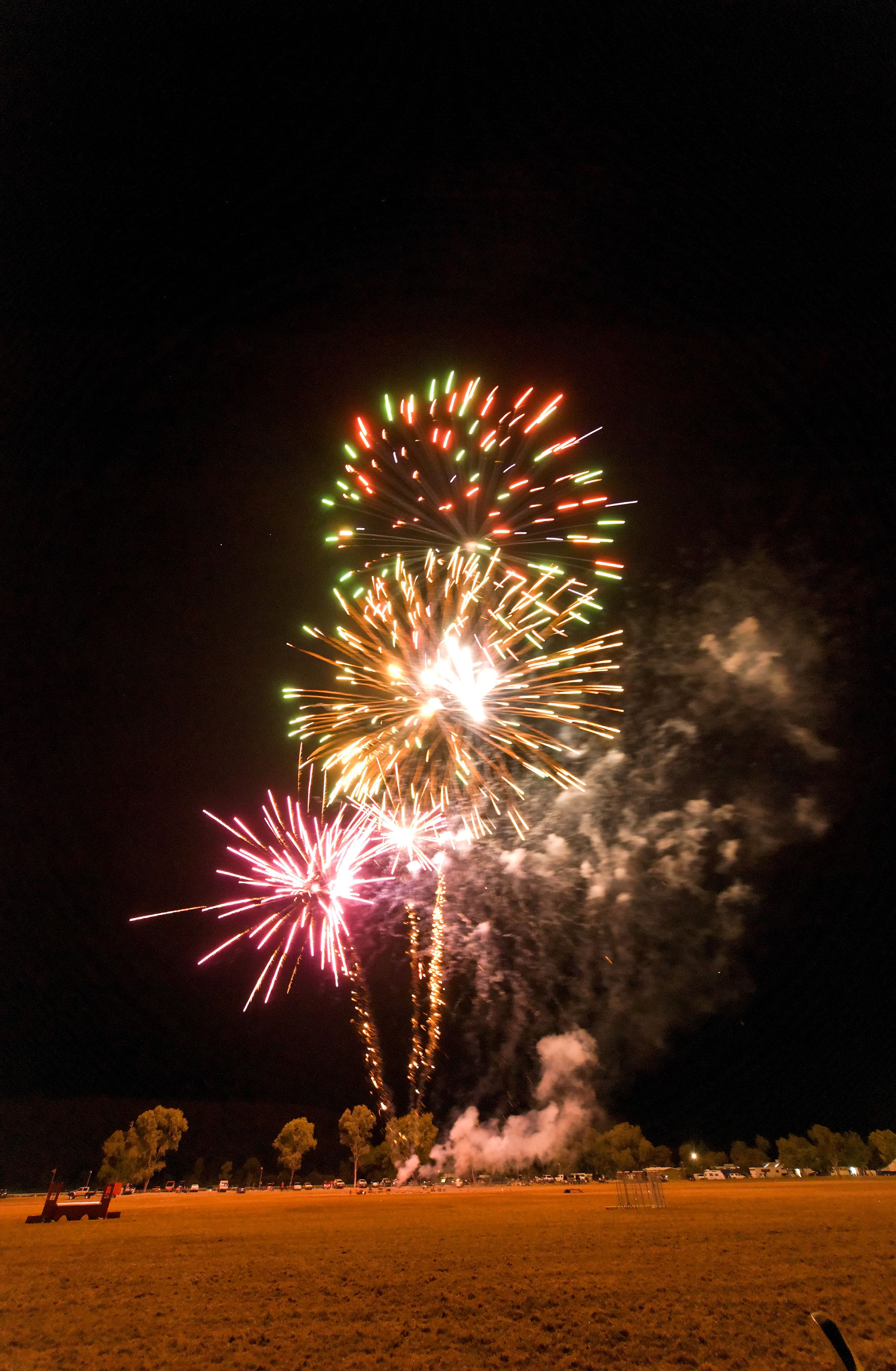 Fireworks at the 2010 Show