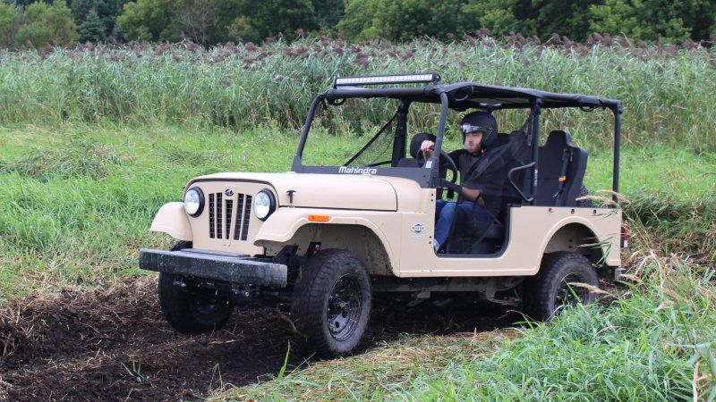 Mahindra Roxor Review Diesel Performance Final Drive Driving