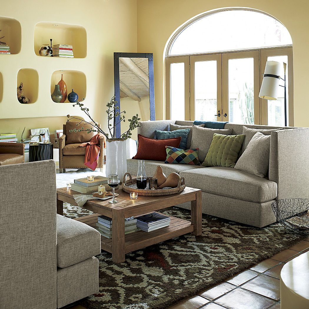 Riston Floor Lamp + Reviews | Crate and Barrel | Home ...