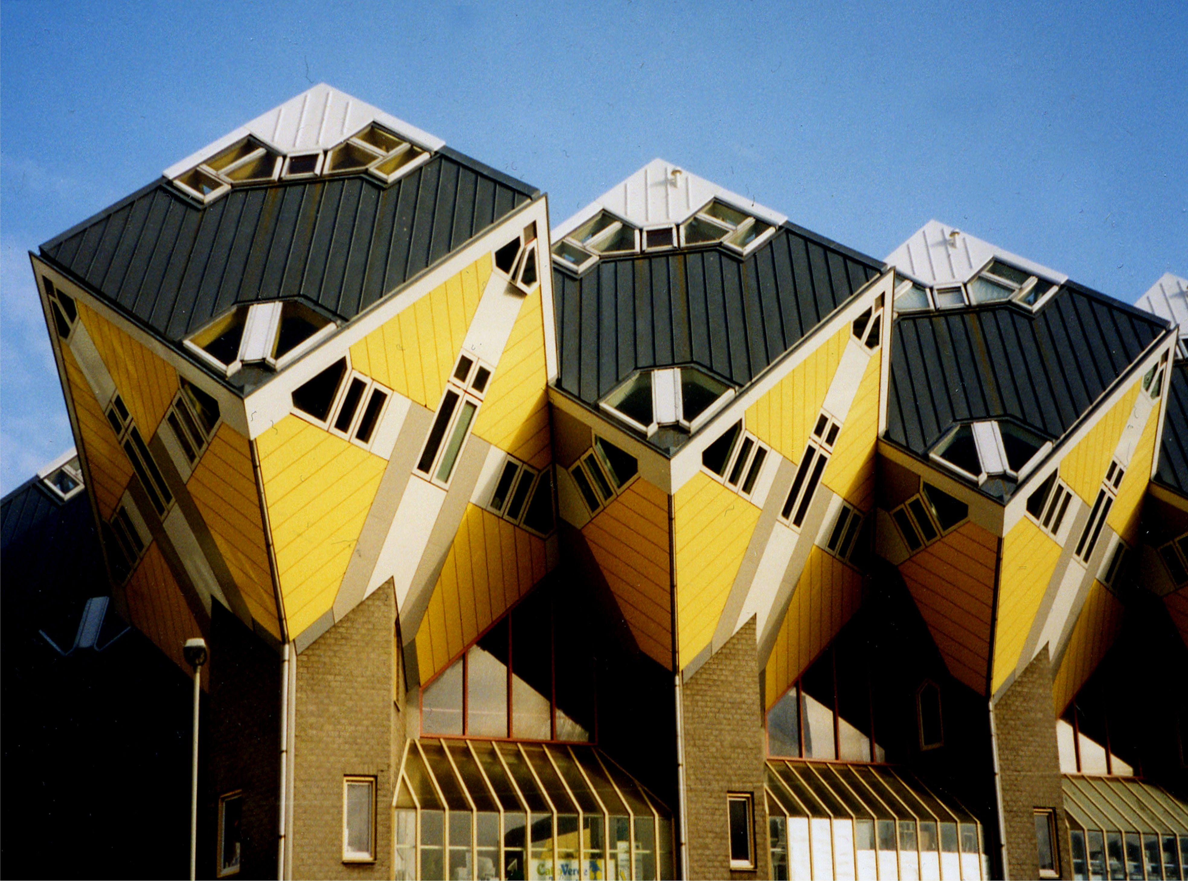 architectuur in drievoud rotterdam architecture