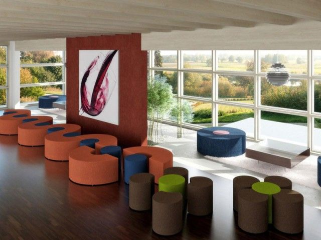 Lounge seating shelving furniture pinterest teen library and library furniture - Library lounge chairs ...