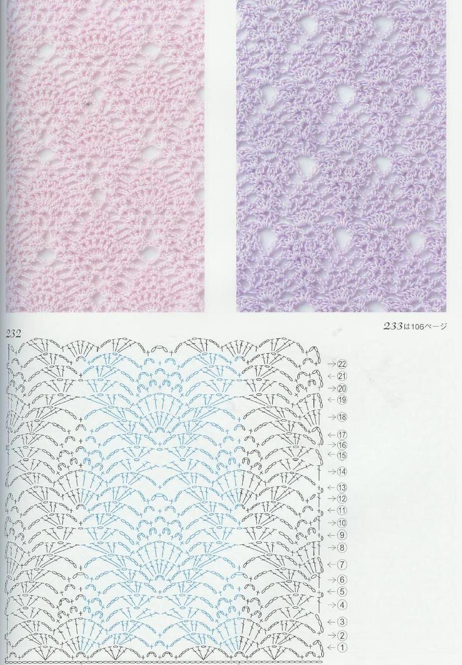 ClippedOnIssuu from Crochet patterns book 300 | crochet puntos ...
