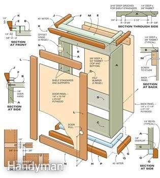 Best Simple Storage Cabinet Easy Woodworking Projects 400 x 300