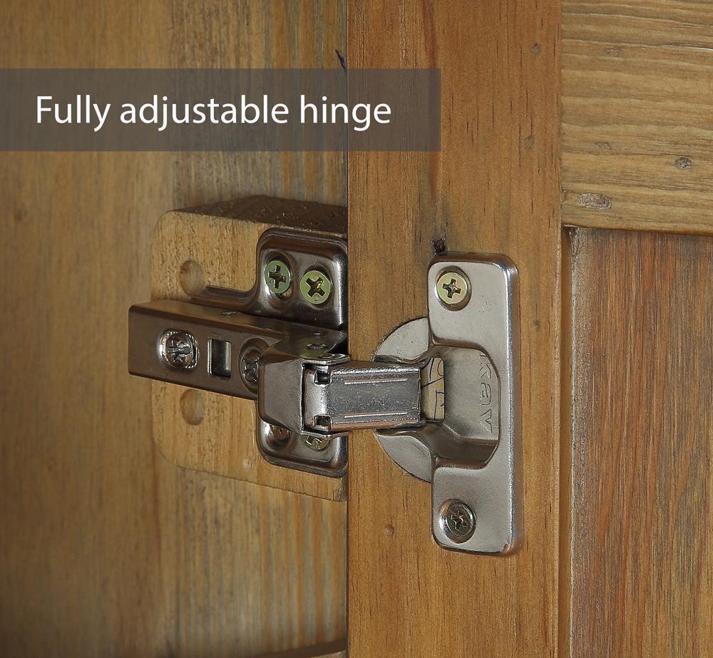 Urban Elegance – Reclaimed Living Room Storage Cabinet