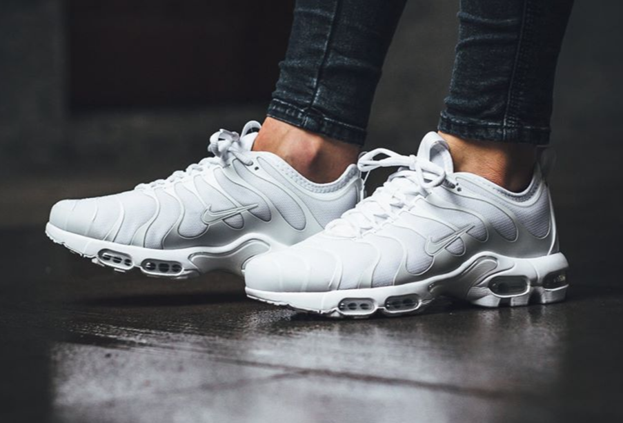 quality design 7d3e0 29c10 The Nike Air Max Plus TN Ultra is treated in all-white for ...