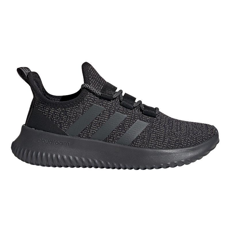 adidas Boys' Kaptur Grade School Shoes Core BlackGrey