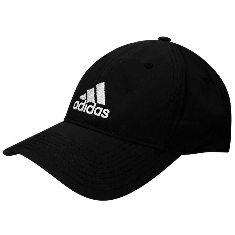 Boné Adidas Essentials Logo Preto  29fe1c91314