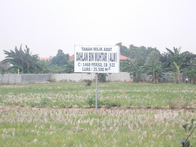 Dijual Tanah Di Pinggir Bkt Banjir Kanal Timur Jakarta Timur