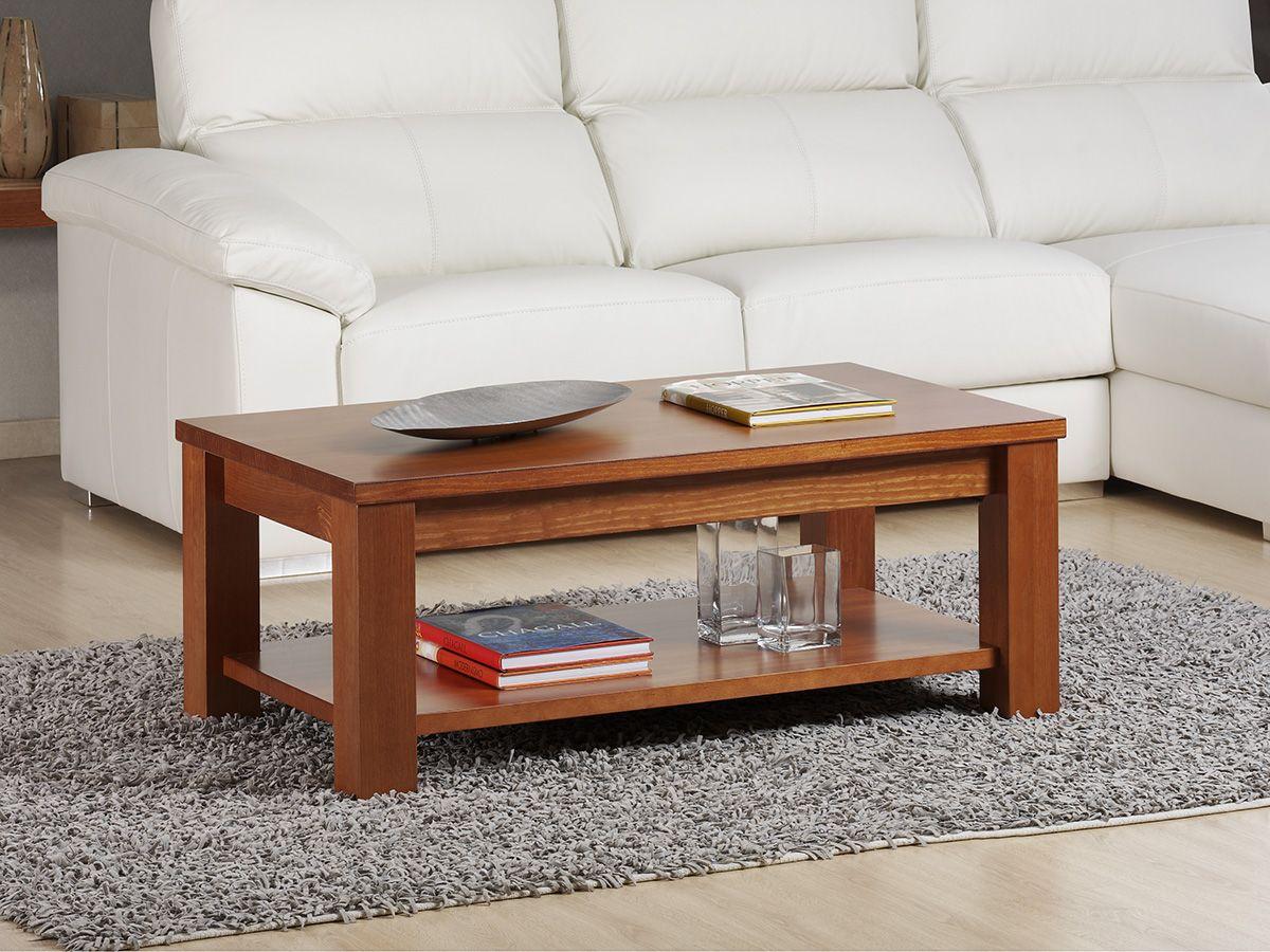 Mesa 442 Fabricada En Madera De Pino Mesas De Centro Cuadradas Muebles Muebles De Sala Modernos