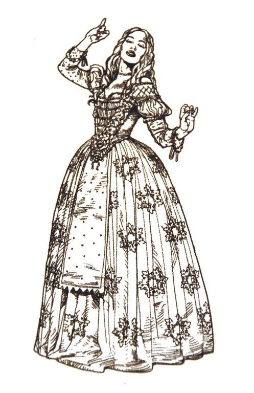 Line Drawing Queen : Alice in wonderland line drawings