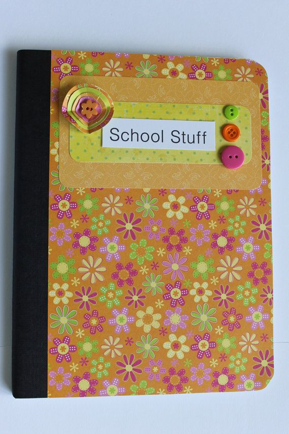 Customized Composition Notebook or Journal by TheGreenDoorCottage, $9.00