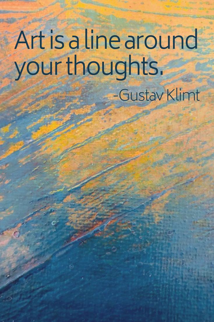 Klimt Quote