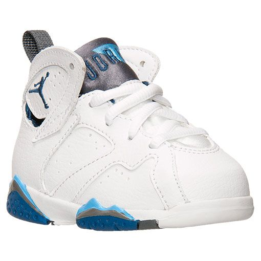 big sale 6218c 4e7ed Boys  Toddler Air Jordan Retro 7 Basketball Shoes   Finish Line    White French Blue University Blue