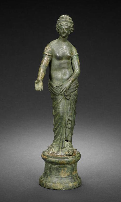 A Roman bronze figure of Aphrodite Circa 1st-2nd Century A ...