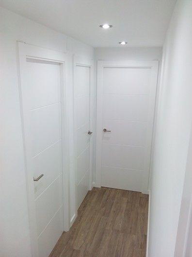 Puertas lacadas con parquet decoeacion casa pinterest for Puertas y parquet