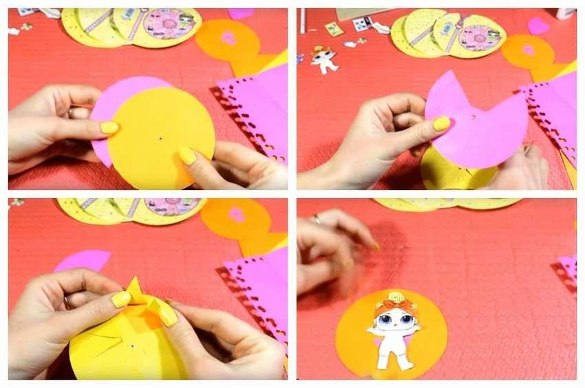 Кукла лол из бумаги своими руками | Куклы, Бумажные куклы ...