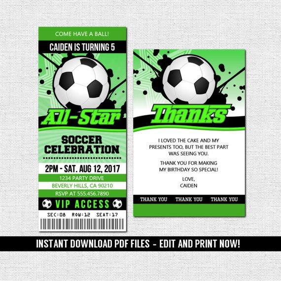 Pin By Johana Dixson On My Saves In 2021 Ticket Invitation Birthday Football Ticket Invitations Ticket Invitation
