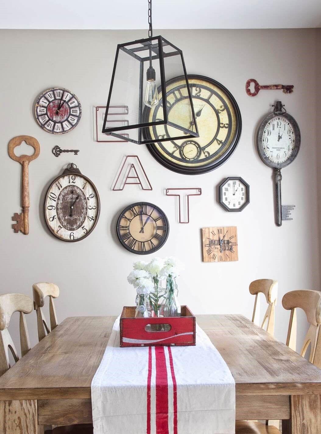 45 Creative Dining Room Wall Ideas To Inspire Homeridian Com Ruang Makan Kamar Dekor Ide Dekorasi Rumah