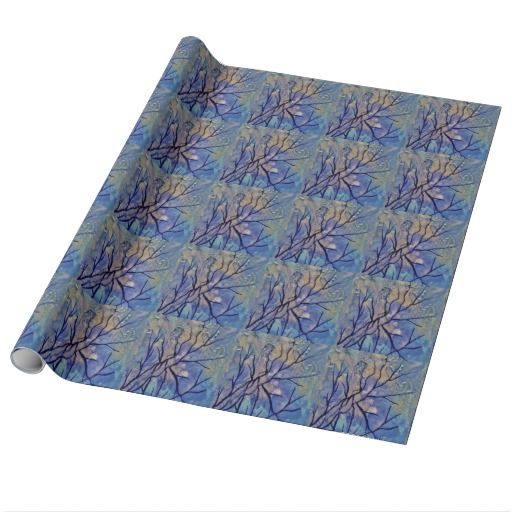 Painting Gift Wrapping Paper