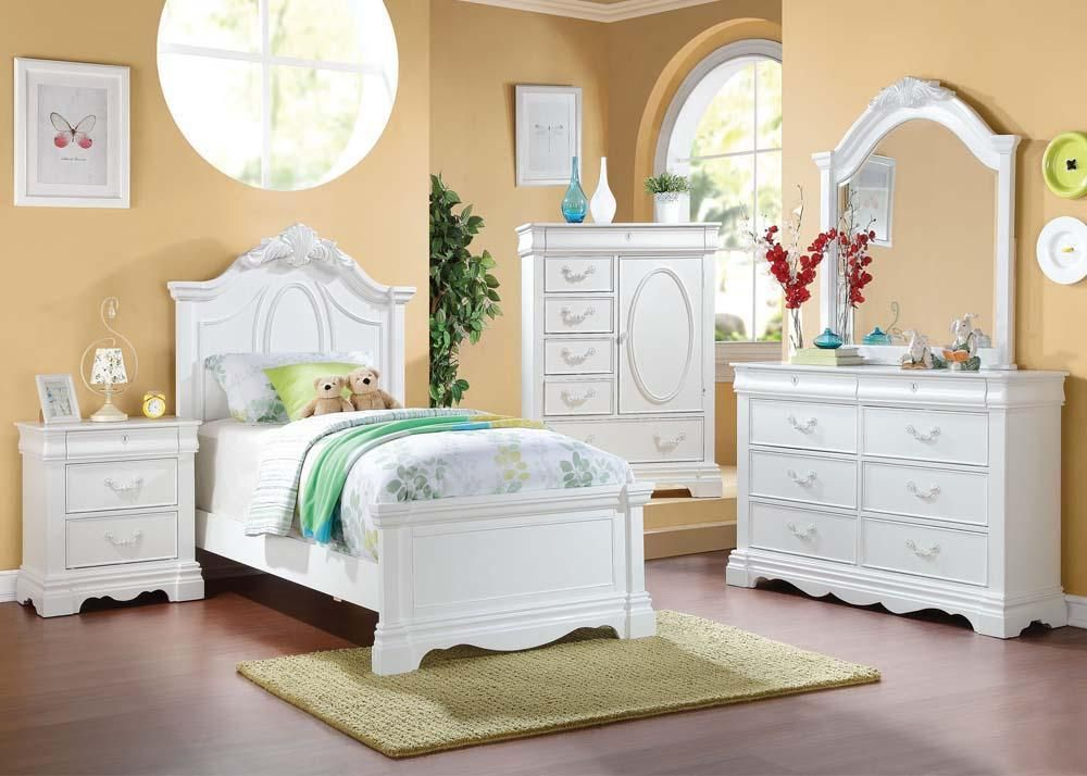 Best Girly Bedroom Furniture Girls Rooms Sleigh Bedroom Set 400 x 300