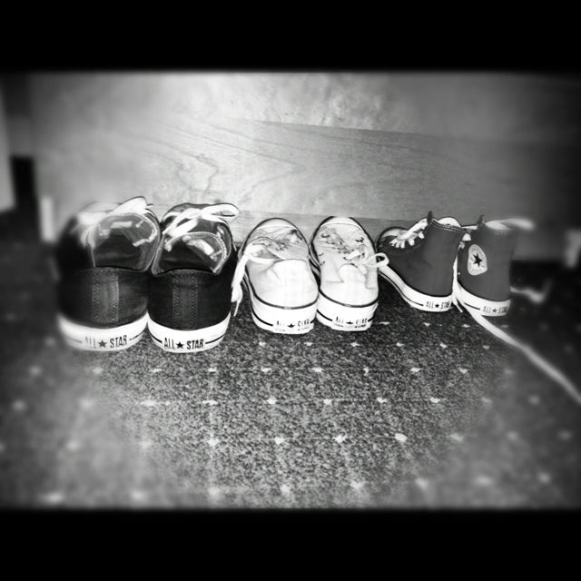 Converse sneakers family