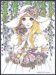 少女画の巨匠 内藤ルネと高橋真琴 大眼娃娃 少女 イラスト 少女